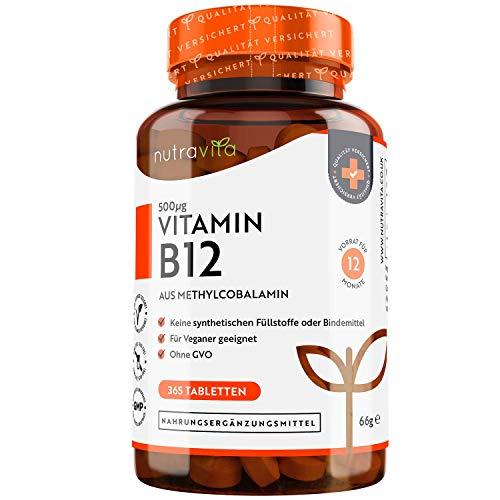 Vitamin B12 500mcg -...