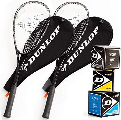 Dunlop Squashset: 2x...