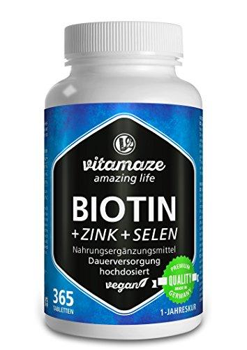 Biotin hochdosiert...