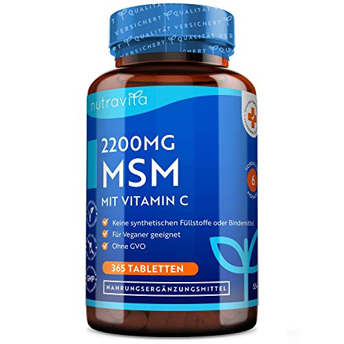 MSM 2200mg Tabletten...