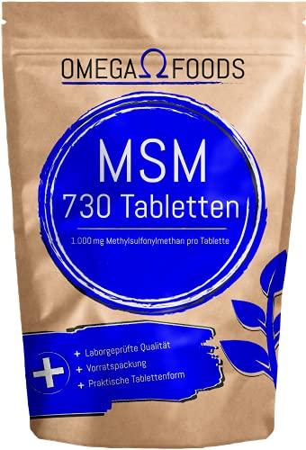 MSM Tabletten –...
